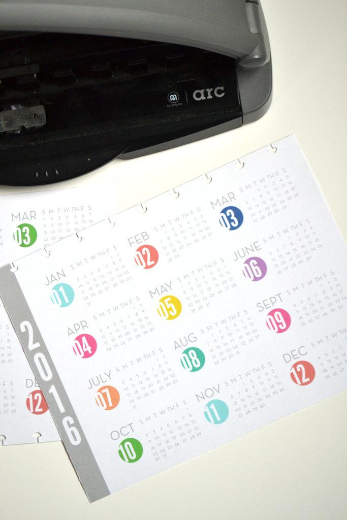 2016 Free Printable Calendars   POPSUGAR Smart Living