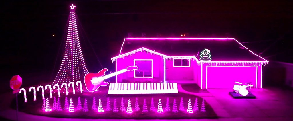 Some Dude Created an EPIC Star Wars Christmas Light Display