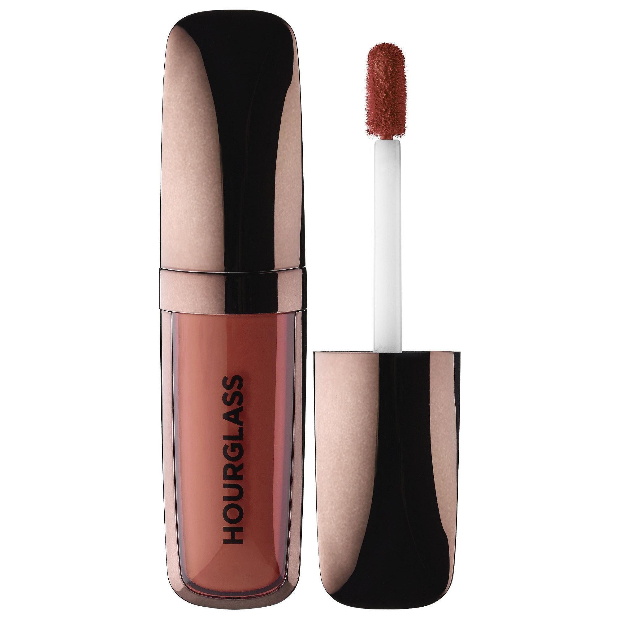 Hourglass Opaque Rouge Liquid Lipstick in Rose ($28)