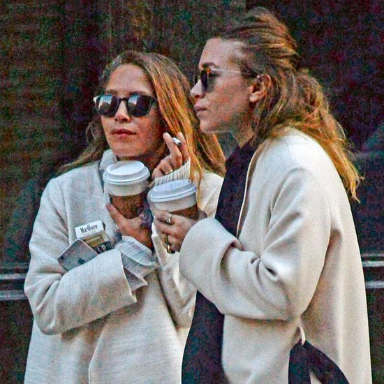 Mary-Kate and Ashley Olsen Smoking in NYC 2015 Pictures