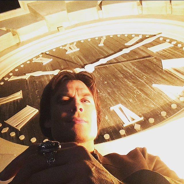 The Mystic Falls Clock Tower Selfie