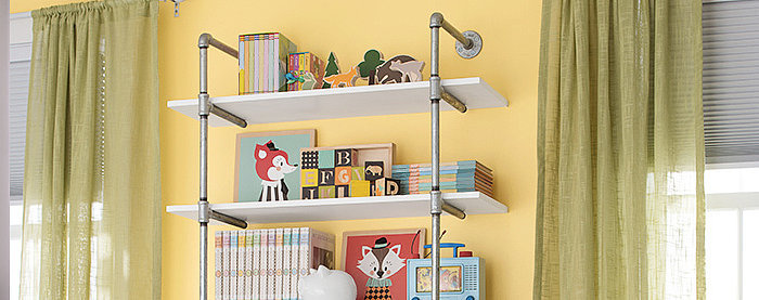 DIY Pipe-Frame Wall Shelf: Sturdy, Trendy, and Simple