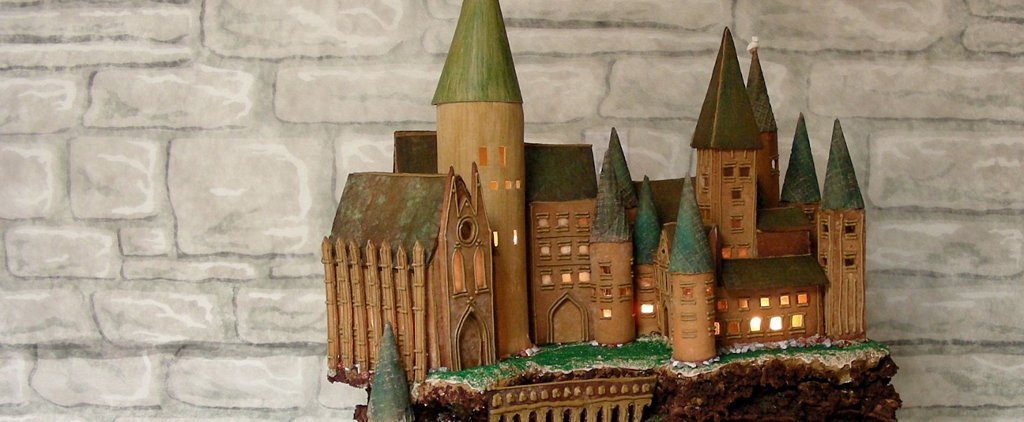 7 Harry Potter Gingerbread Houses That Would Make Mrs. Weasley Proud