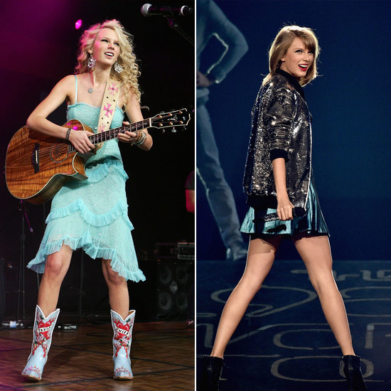 See Taylor Swift's Impressive Pop Star Transformation