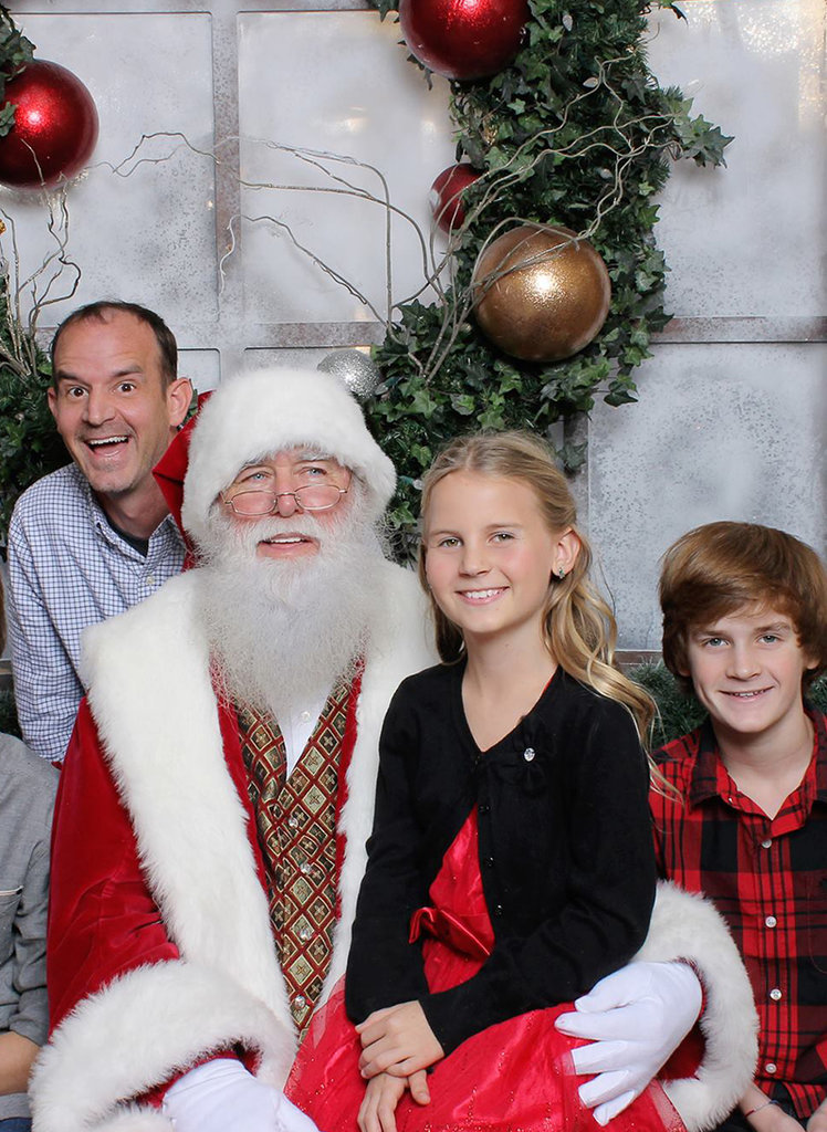 This Military Dad Got Santa's Help to Give His Family the Surprise of a Lifetime
