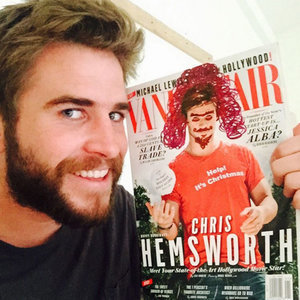 Chris and Liam Hemsworth Teasing Each Other on Instagram