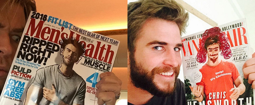 Chris and Liam Hemsworth Have the Best Sibling Rivalry on Instagram