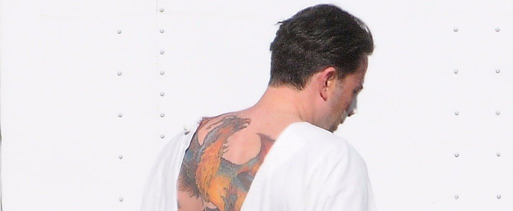 Is Ben Affleck's Back Tattoo a Tribute to Harry Potter?
