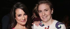 Lea Michele and Lena Dunham Bond Over Being Powerful Women in Hollywood