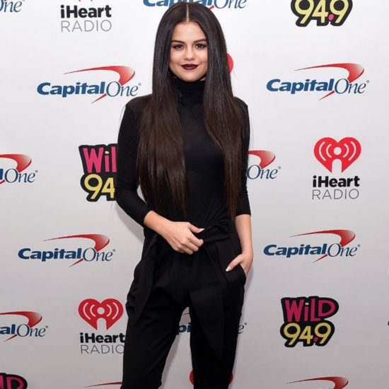 Selena Gomez Black and White Outfits