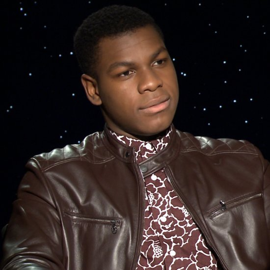 John Boyega Star Wars Interview (Video)