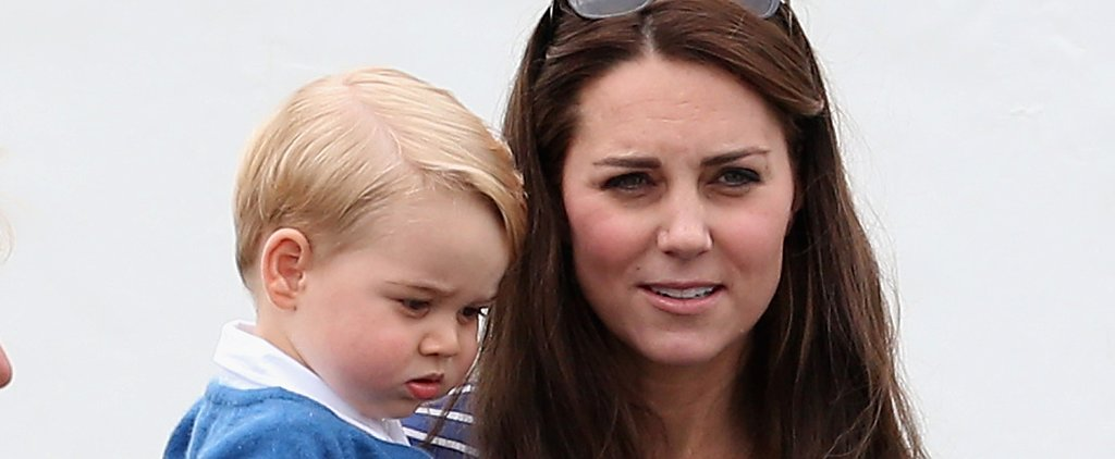 Aww! Prince George Has Been Helping Kate Middleton Decorate For Christmas