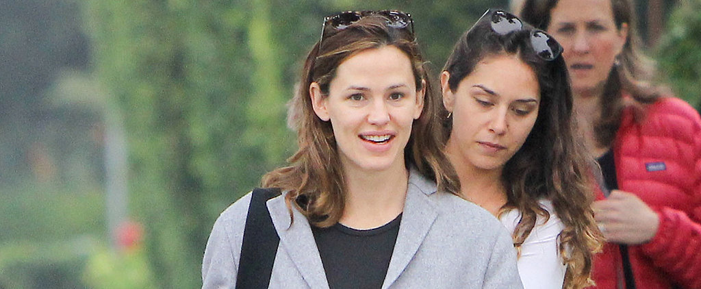 Jennifer Garner Couldn't Care Less About Ben Affleck's Back Tattoo While Out With Friends