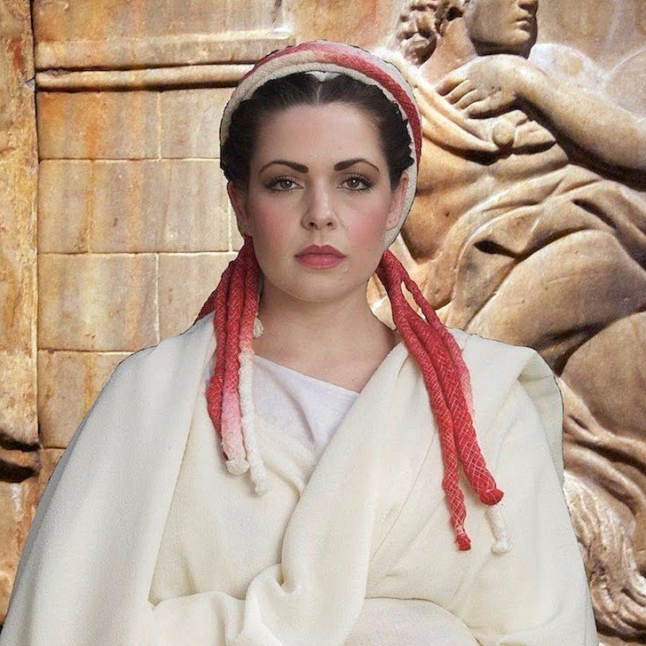 Ancient Rome Inspired Hair Tutorial Popsugar Beauty