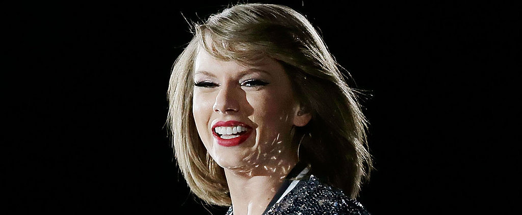 Taylor Swift and Calvin Harris Are All Smiles at Her Christmas-Themed Birthday Party