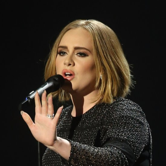 Adele Bob Haircut Dec 2015