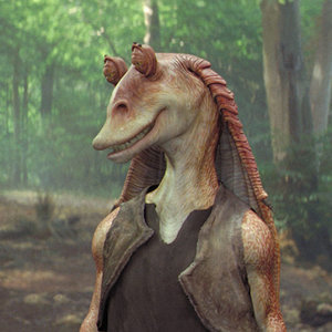 Jar Jar Binks as Supreme Leader Snoke Fan Theory