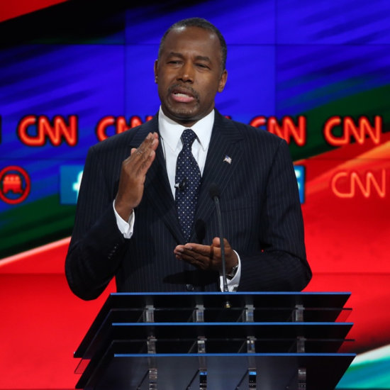 "Ben Carson Says Middle East Airstrikes Could Be ""Merciful"""