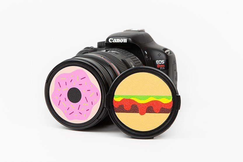 For the silly photography lover in your life, the Snack Cap ($10) are the perfect lens caps to personalize their camera.