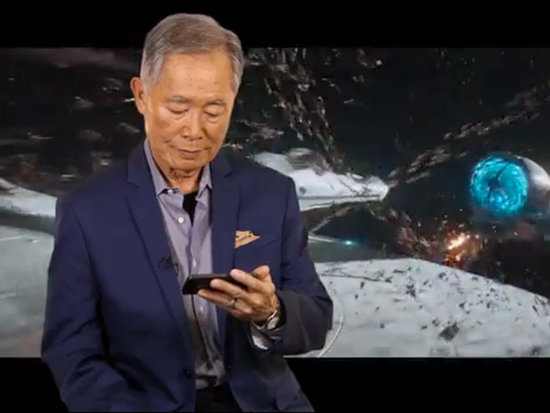 VIDEO: George Takei Was a Little Underwhelmed by the New Star Trek Beyond Trailer