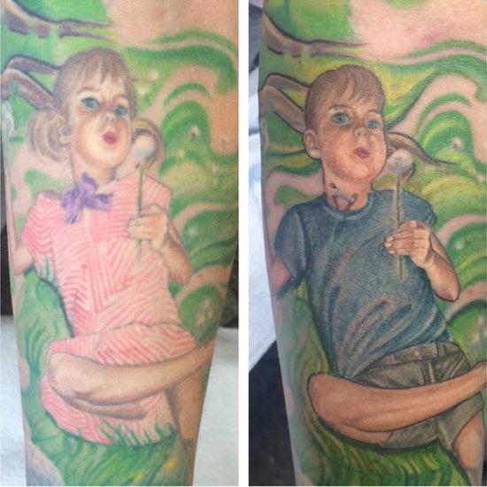 Mom Alters Tattoo of Transgender Son