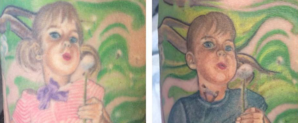 Mom Transforms Tattoo of Transgender Son in a Sweet Tribute to His Transition