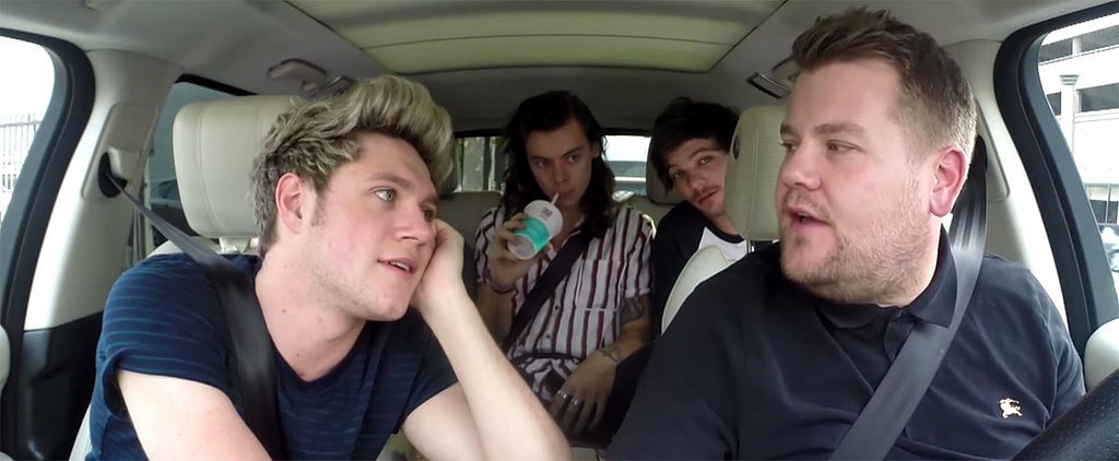 One Direction Does Carpool Karaoke With James Corden — Prepare to Fall in Love