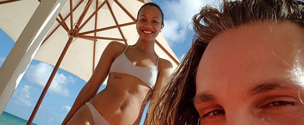 We Need a Beach! And We Need Zoe Saldana's Bikini to Go With It