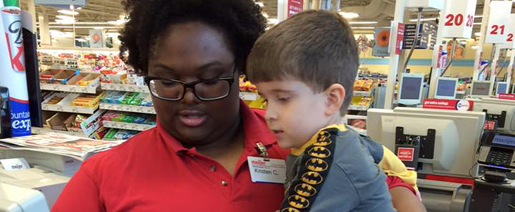 What This Grocery Store Cashier Did For a Sad Little Boy Will Make You Melt