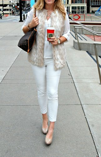 Winter Neutrals - Winter White Fashion