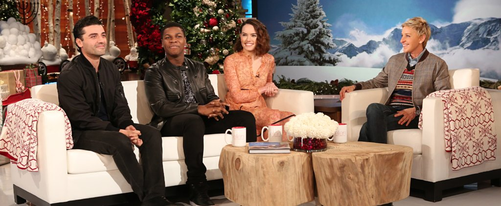 Watch John Boyega Do a Spot-On Impersonation of His Star Wars Costar Daisy Ridley