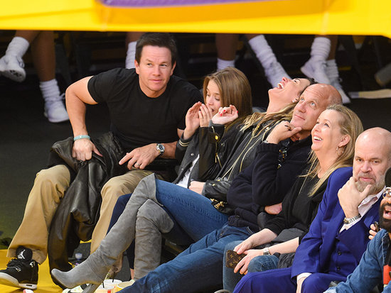 See Mark Wahlberg's Daughter Get Embarrassed by Her Parents' Adorable PDA!