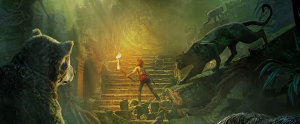 """The Jungle Book's """"Living"""" Poster Takes You Deep Into the Rain Forest"""