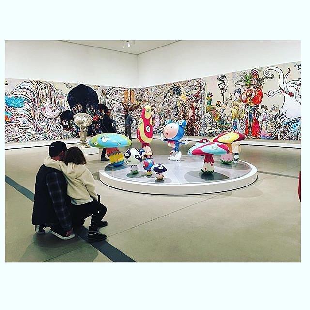 """""""Takashi Murakami @thebroadmuseum."""""""