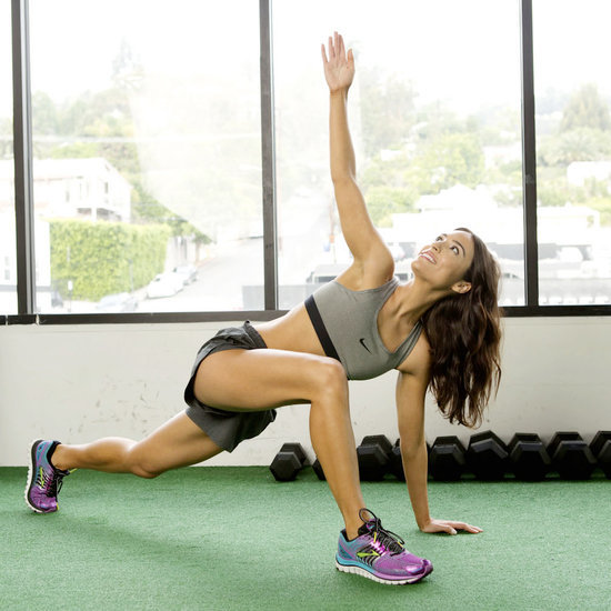 How to Do the Twisting Lunge Hip Stretch
