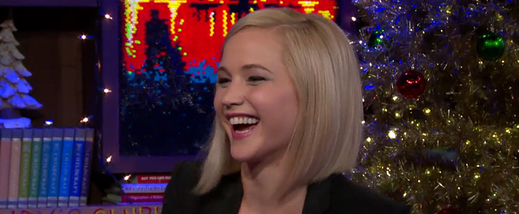 Jennifer Lawrence Confesses She's Kissed Liam Hemsworth Off Screen