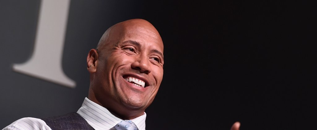 The Rock Welcomes A Baby Girl With the Sweetest Photo You've Ever Seen