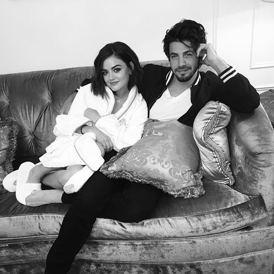 Lucy Hale and Anthony Kalabretta's Instagram Pictures