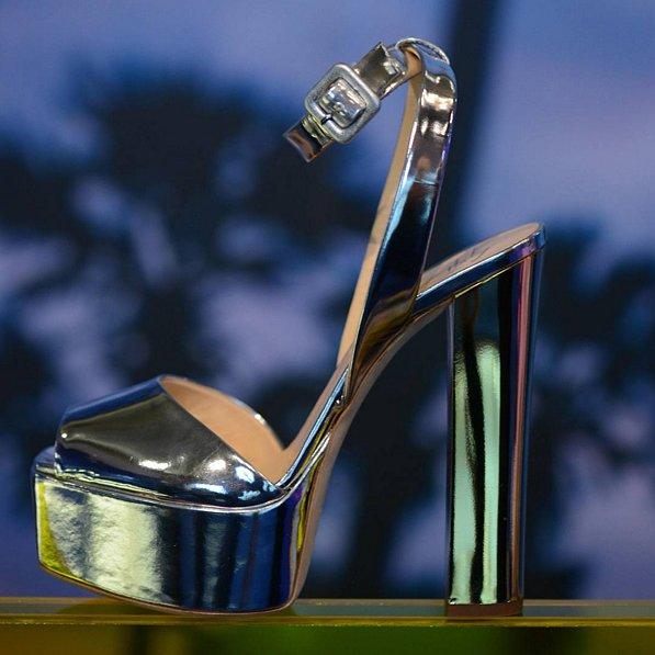 Giuseppe Zanotti, Mirror Platform Sandal