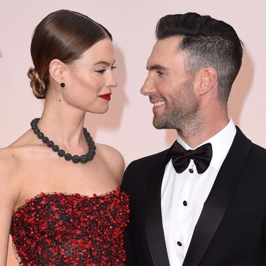 Behati Prinsloo and Adam Levine Cutest Moments Pictures
