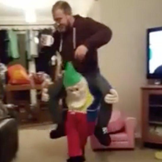 Dad's Christmas Elf Costume Prank