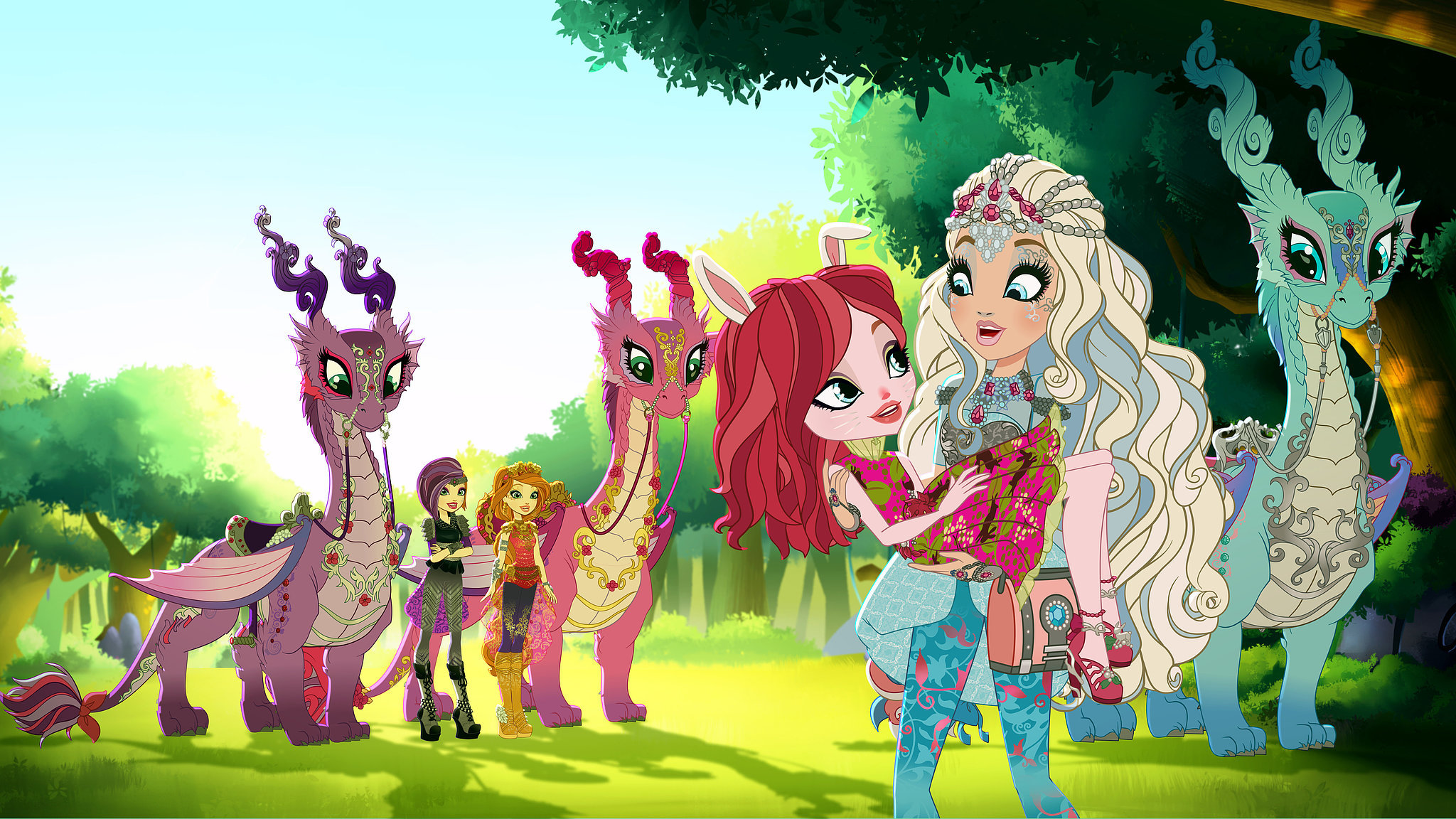 Ever After High Dragon Games Ring In The New Year With Netflixs
