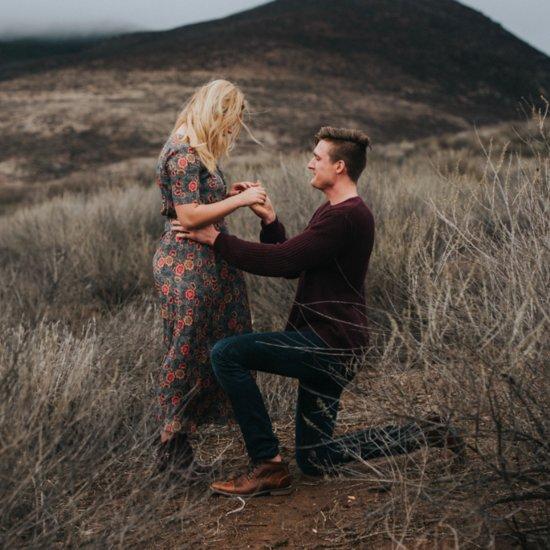 Sasha Pieterse's Engagement Shoot Style