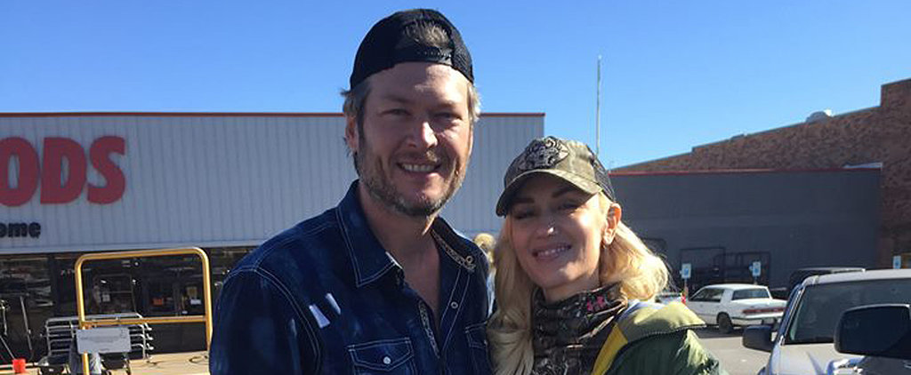 Gwen Stefani and Blake Shelton Spend the Holidays Together in Oklahoma