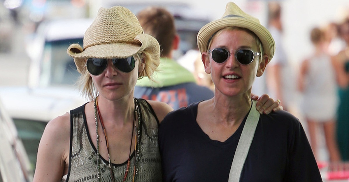 Ellen degeneres and portia de rossi look so in love during their