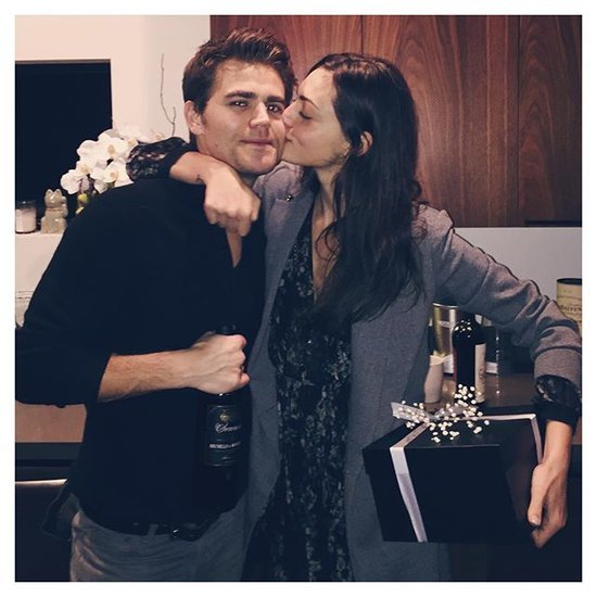 Paul Wesley and Phoebe Tonkin Instagram Pictures
