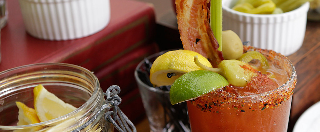 Bourbon and Spicy Condiments Combine For the World's Greatest Bloody Mary