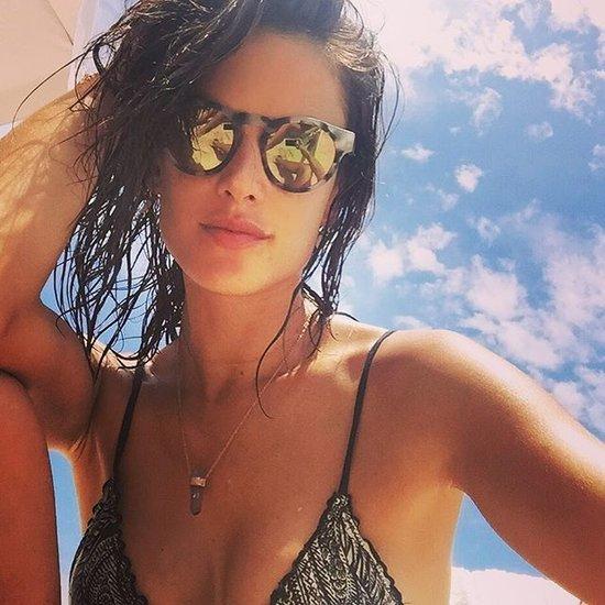 Alessandra Ambrosio Bikini Pictures in Brazil December 2015