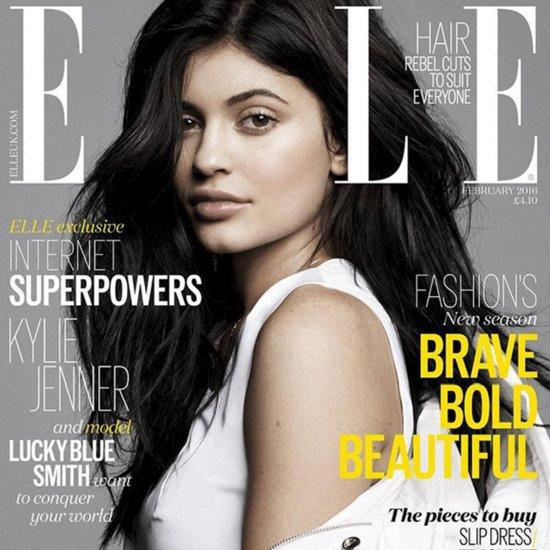 Kylie Jenner on the Cover of Elle UK Magazine