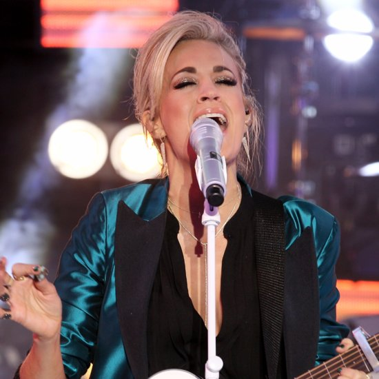 Carrie Underwood's New Year's Eve Performance 2015